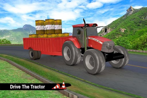 Tractor Trolley Parking Drive - Drive Parking Game 2.6 Screenshots 2