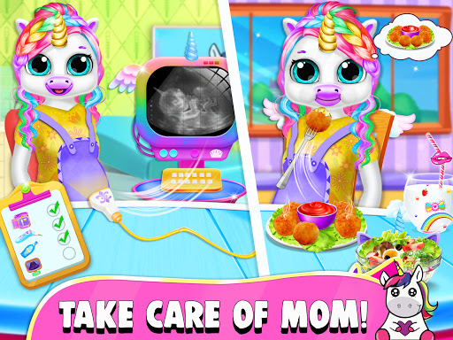 Pregnant Unicorn Mom And Baby Daycare 0.13 screenshots 12