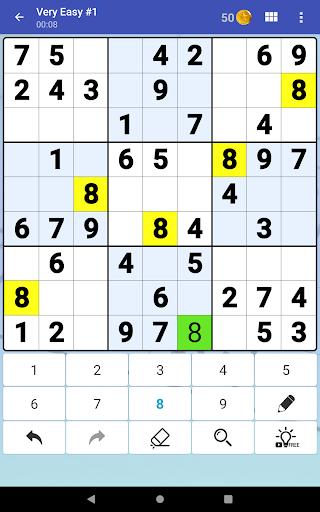 Sudoku Free - Classic Brain Puzzle Game  screenshots 17