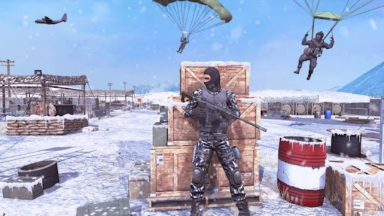 Action Shooting Games : Commando Games Mod Apk 6.0 (A Lot of Money) 2