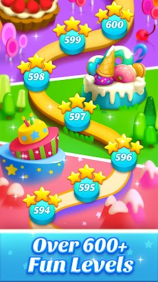 Cookie World -- Clash of Cookie & Colorful Puzzleのおすすめ画像4