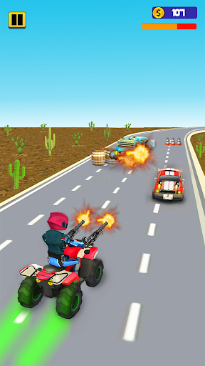 Quad Bike Traffic Shooting Games 2020: Bike Games 3.1 screenshots 11