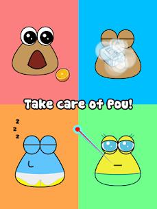 Download Pou Mod Apk1.4.81 [Unlimited money/Max level/coins] 6