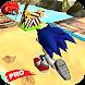 Pro Blue Hedgehog - Ultimate Adventure