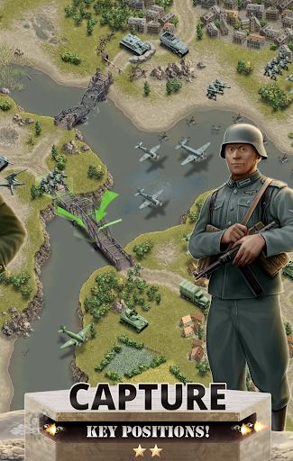 1944 Burning Bridges - a WW2 Strategy War Game  screenshots 2
