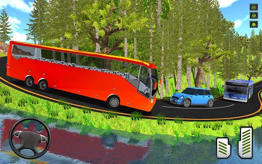 Offroad Mountains Bus Driving Simulator:Coach Game  screenshots 1