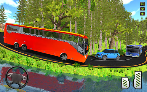 Offroad Mountains Bus Driving Simulator:Coach Game 1.4 screenshots 1