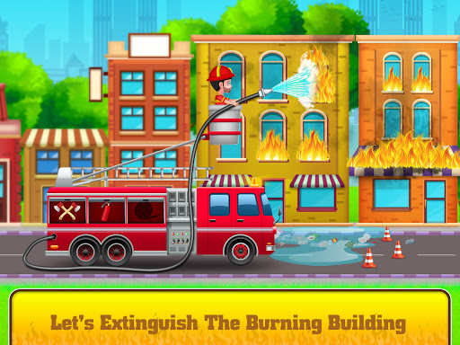 Firefighter: Fire Rescue And Car Wash Garage apklade screenshots 1