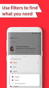 myMail: Email App for Gmail, Hotmail & AOL E-Mails 3