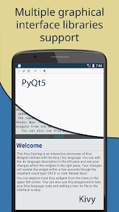 Pydroid 3 - IDE for Python 3 Screenshot