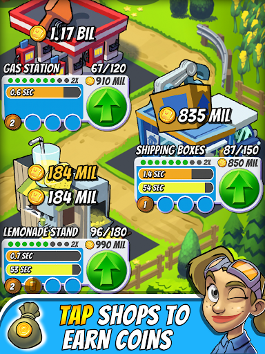 Tap Empire: Idle Tycoon Tapper & Business Sim Game 2.9.10 screenshots 9