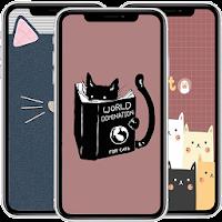Cute Cat Cartoon Wallpaper HD