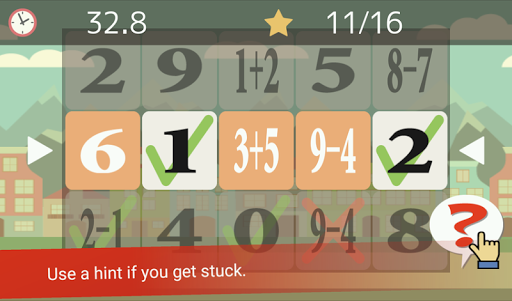 Tap the Numbers (Calculation, Brain training) 3.3.2 screenshots 2