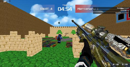 Shooting Advanced Blocky Combat SWAT  screenshots 17