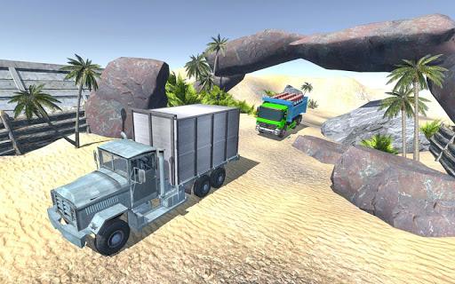 Offroad Cargo Truck Driver Simulator apklade screenshots 2