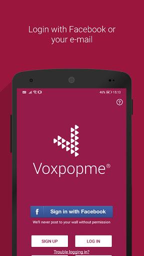 voxpopme - paid video surveys screenshot 1