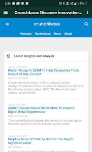 Crunchbase Browser - Business Profiles & Data