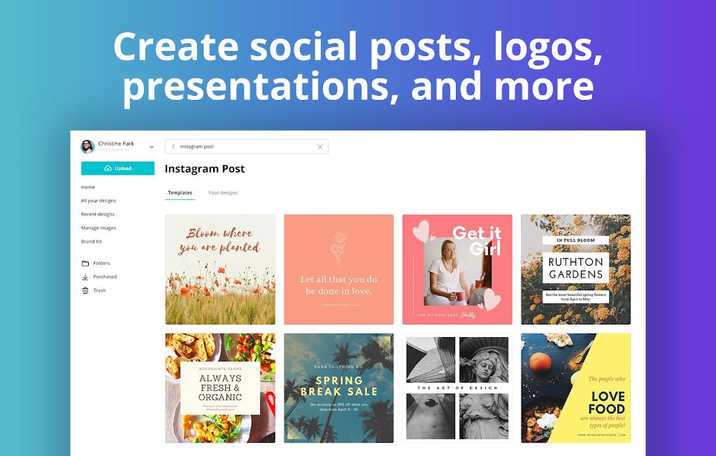 Canva: Graphic Design, Video Collage, Logo Maker  poster 9