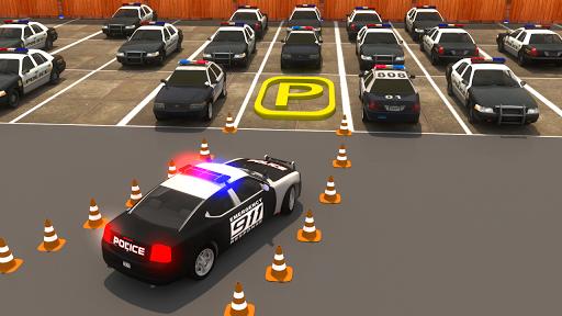 Modern Police Car Parking : Real Car Parking 3D  screenshots 4