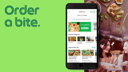 Grab - Transport, Food Delivery, Payments  screenshots 2