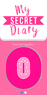 My Personal Diary with Fingerprint Password 1