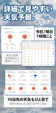 tenki.jp 日本気象協会の天気予報専門アプリのおすすめ画像3