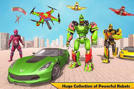 Drone Robot Transforming Game 2.3 screenshots 5