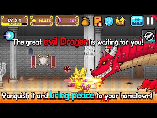 Tap Knight : Dragon's Attack  screenshots 16