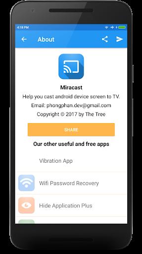 Miracast - Wifi Display 2.0 Screenshots 6