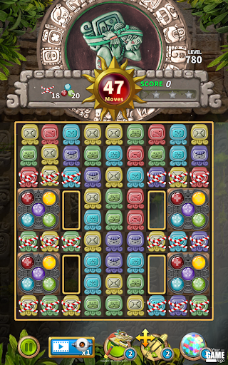 Glyph of Maya - Match 3 Puzzle  screenshots 22