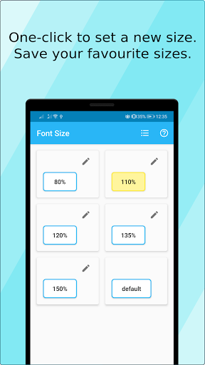 Font Size (ad free) screen 0