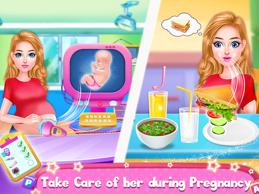 Pregnant Mommy & Baby Care: Babysitter Baby Games  screenshots 2