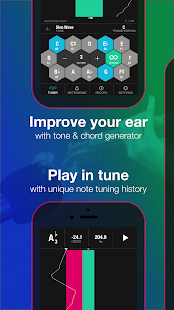 Tunable: Tuner und Metronom Screenshot