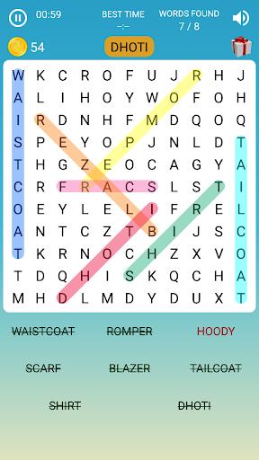 Word Search Game in English 2.4 screenshots 1