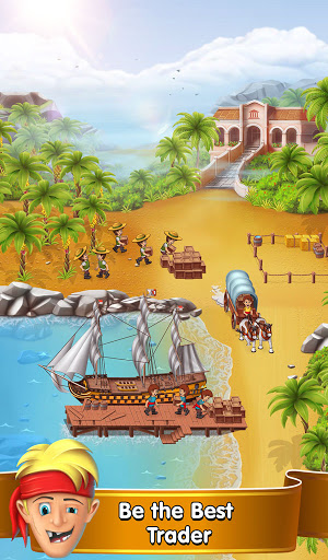 Pocket Ships Tap Tycoon: Idle Seaport Clicker apkpoly screenshots 15