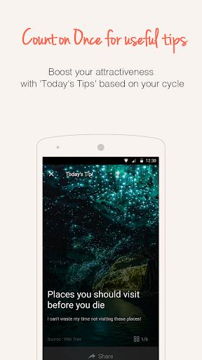 Once -A special period tracker apktram screenshots 2