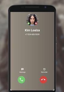 Kim Loaiza Fake Call – Call Chat Kimberly Loaiza 2
