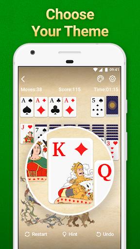 Solitaire Klondike: card games Apkfinish screenshots 4
