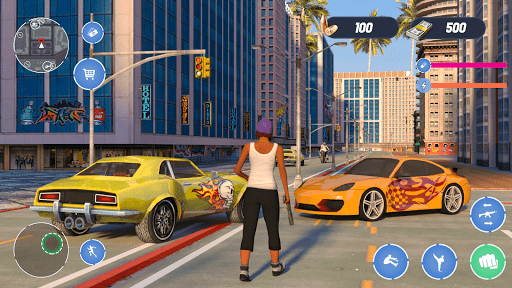 Grand City Thug Crime Game Apkfinish screenshots 6