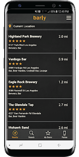 Barly - Beer Finder, Ratings & Tap Lists Near Me Screenshot
