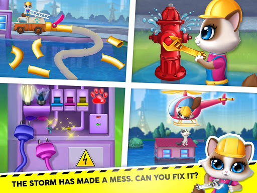 Kitty Meow Meow City Heroes - Cats to the Rescue! 4.0.21003 screenshots 13