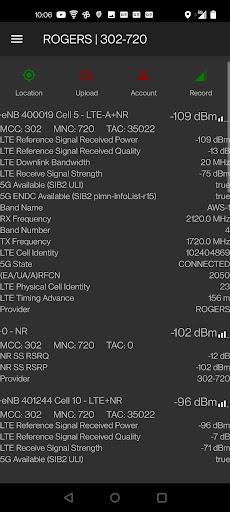 CellMapper  screenshots 1
