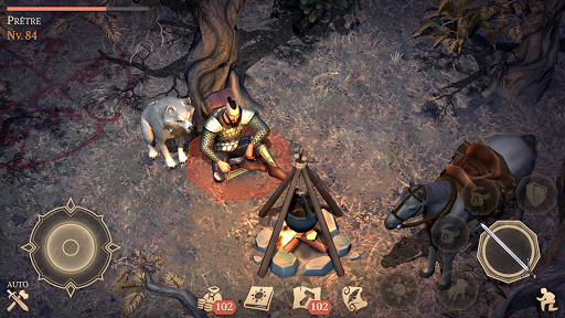 Grim Soul: Dark Fantasy Survival APK MOD (Astuce) screenshots 3