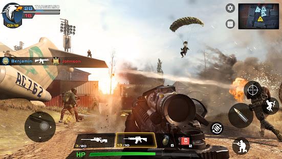 Critical Action :Gun Strike Ops – Shooting Game [v2.6.12] APK Mod for Android logo