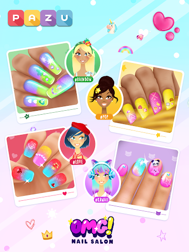Girls Nail Salon - Manicure games for kids 1.21 Screenshots 6