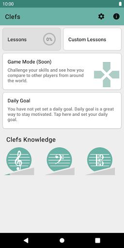 Clefs: Music Reading Trainer  screenshots 1