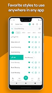 Stylish Text - Keyboard, Fonts, Symbols & Emoji Screenshot