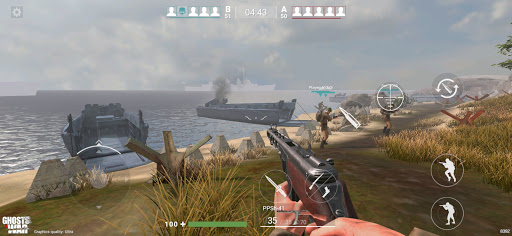Ghosts of War: WW2 Shooting game Army D-Day 0.2.9 screenshots 7