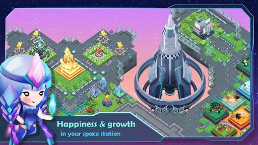 SciFarm - Farming Game in the space, City-building apkdebit screenshots 2