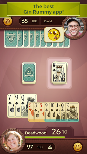 Grand Gin Rummy: The classic Gin Rummy Card Game apkmartins screenshots 1